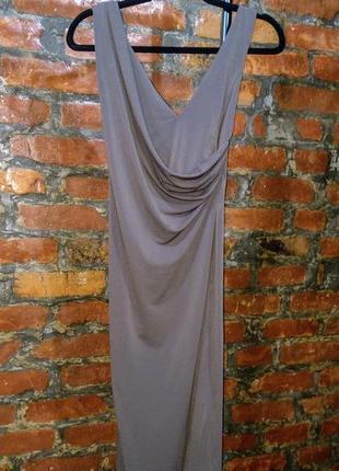 Облегающее по фигуре платье с драпировкой на груди asos