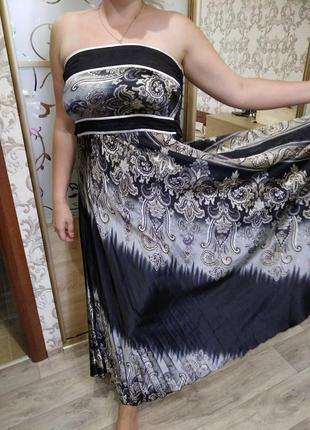 Летний сарафан ,платье р 14