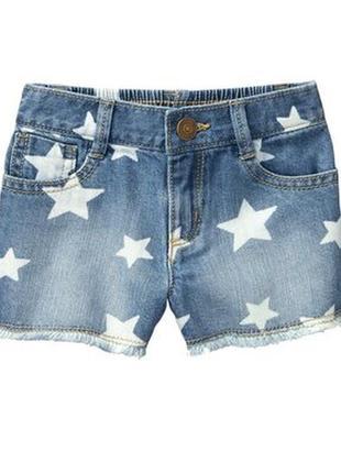 Стильные джинсовые шорты gymboree размер 3т