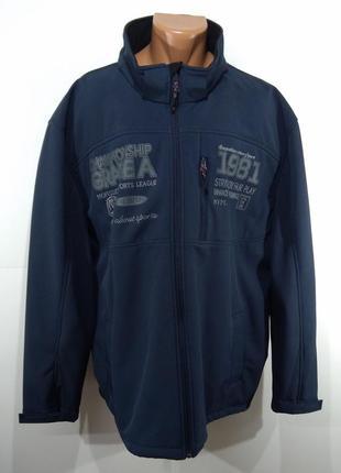 Фирменная спортивная куртка angelo litrico германия очень большого размера