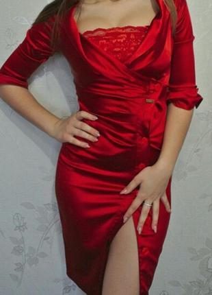 Червона вечірня сукня вечернее платье випускное