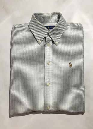 Хлопковая рубашка ralph lauren оригинал
