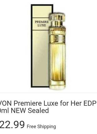 Premiere luxe for her edp
