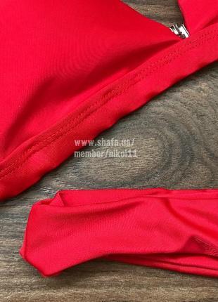 Распродажа💥 красный купальник бикини 🔥 плавки бразилиана 🔥3 фото