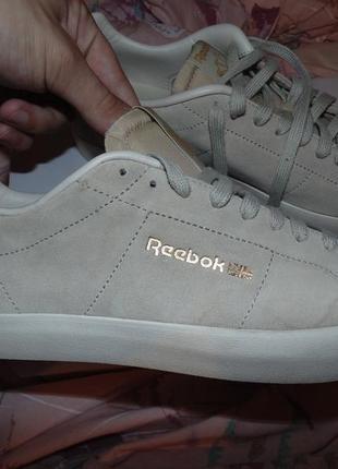 Кроссовки reebok оригинал замша редкая модель абсолютно новые коробка