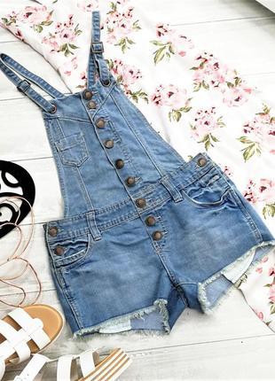 Джинсовый комбинезон на пуговицах 180245 yes jeans размер uk8/36 (xs/s)