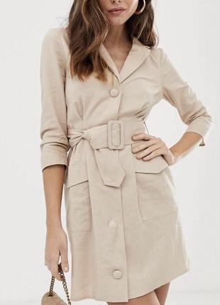 Платье из льна, очень красивое