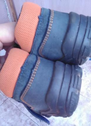 Сандалики для мальчика-натуральный замш8 фото