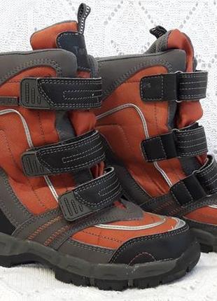 Зимние термо сапоги ботинки  ten-tex
