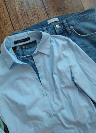 Крутая рубашка с открытой спиной от zara