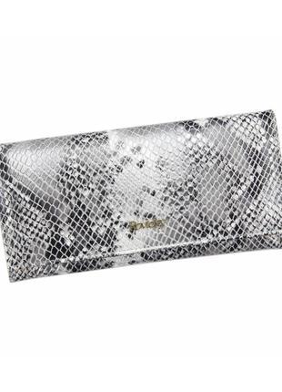 Женский кожаный кошелек rovicky 8805-snr rfid