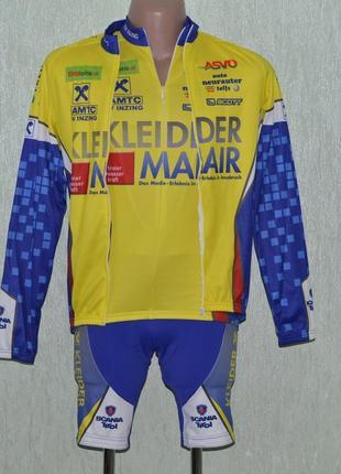 Велоформа комплект, велокостюм, велошорты, веломайка cuore kleider