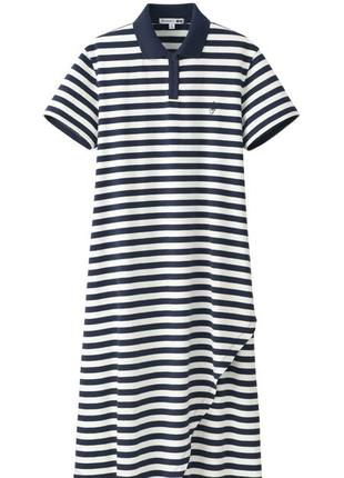 Платье поло women asymmetric short-sleeve dress (jw anderson)
