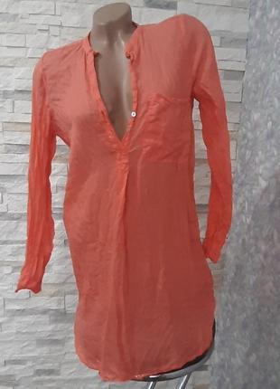Легкая невесомая блуза туника