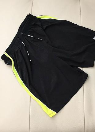 Спортивные мужские шорты для бега nike running dri-fit, s-m