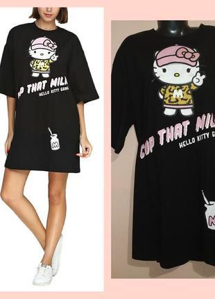 Большие платья-футболки с карманами для больших девочек.
