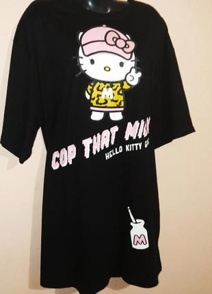 Большие платья-футболки с карманами для больших девочек.2 фото
