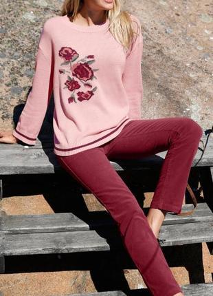 Разовый пуловер в этно-стиле