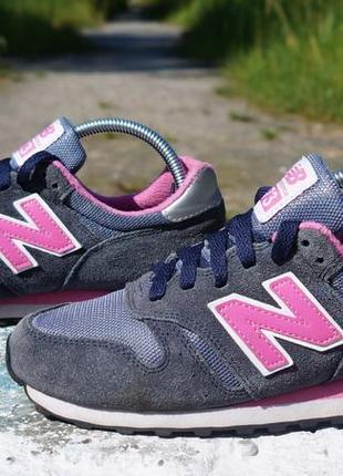 Замшеві кросівки new balance 373