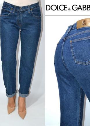 Джинсы  джинсы бойфренды средняя посадка dolche&gabanna.