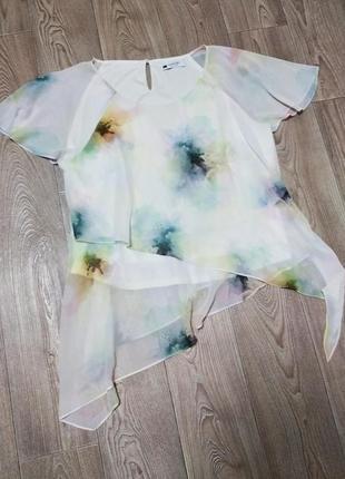 Лёгкая летняя блузка кофточка футболка