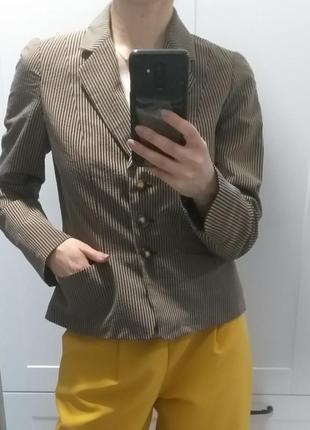 Kenzo жакет пиджак в полоску