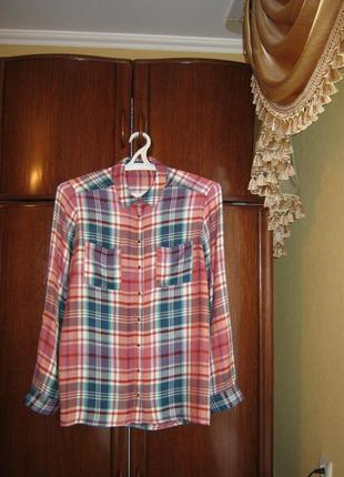 Рубашка tu, 100% вискоза, размер 18/46