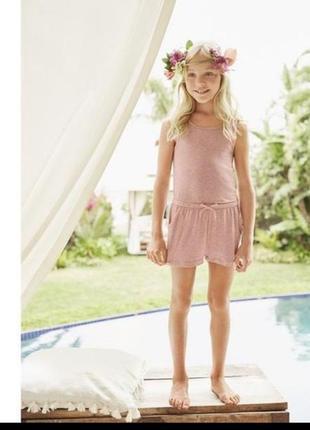 Літній ромпер-комбінезон для дівчинки від pepperts.