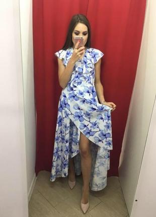 Платье на на запах от victoria style