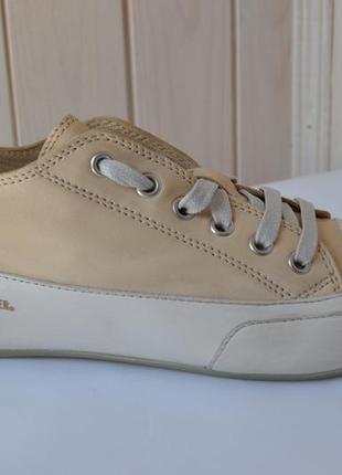 Дизайнерские кожаные сникерсы candice cooper 35,5-36р. оригинал.