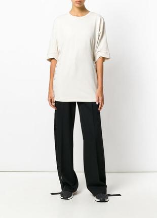 Кремовая свободная футболка со шнуровкой от puma ss19