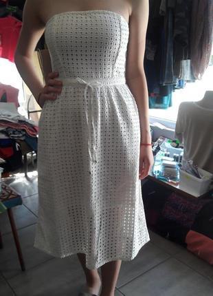 Платье белое летнее из сша.