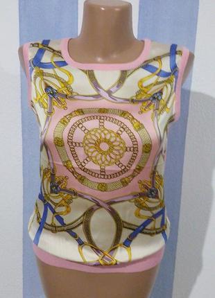Гарна блуза майка зі стильним принтом locyvi