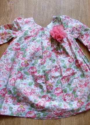 Платье 24 мес, laura ashley, хлопок