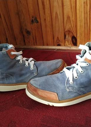 Легкі джинсові кеди тimberland