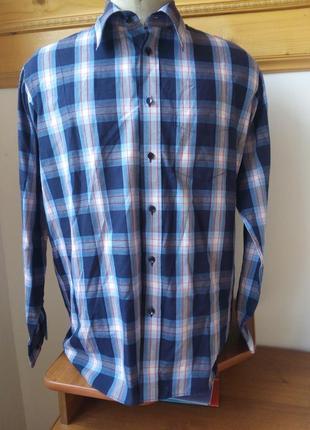 Рубашка клетка розмір-39-40