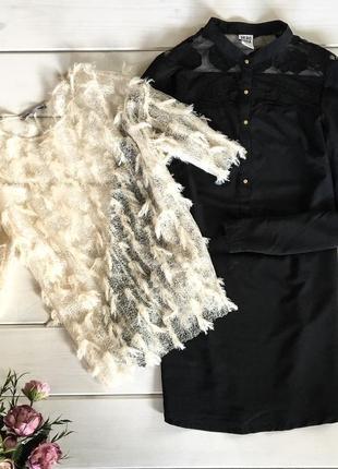 Эффектная праздничная блуза от zara