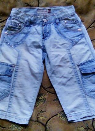 Шорты джинсовые подростковые