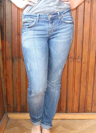 Классические джинсы средней посадки