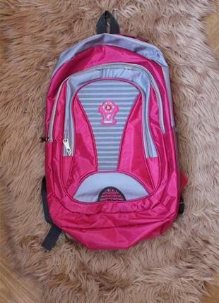 Скидочка к 1 сентябрю! большой вместительный розовый рюкзак новый