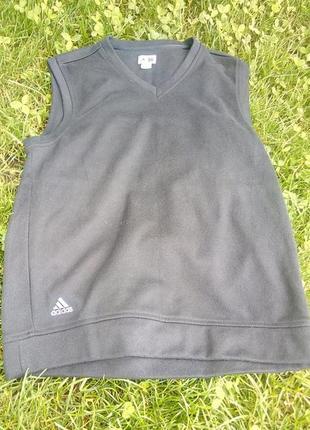 Чёрная жилетка adidas