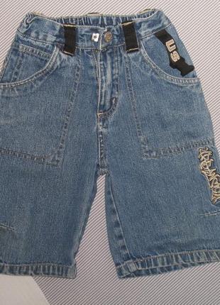 Бриджи джинсовые рост 104 см