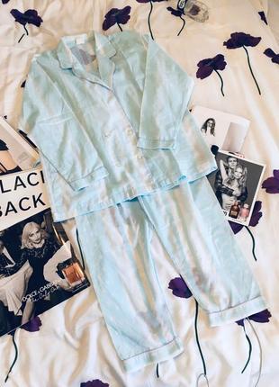 Милейшая пижама с прозрачными полосками в горошек