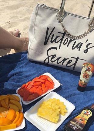 Стильная сумка сумочка шоппер шопер виктория сикрет оригинал