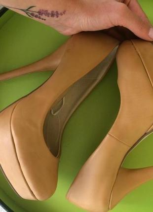 Туфли кожаные  италия  vera pelle