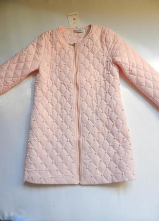 ⛔⛔✅тонкое пальто с жемчугом разные размеры и цвета2 фото