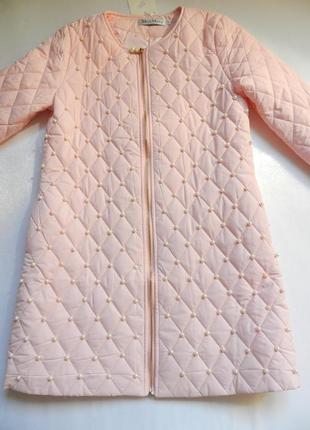 ⛔⛔✅тонкое пальто с жемчугом разные размеры и цвета3 фото