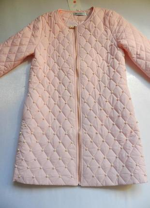 ⛔⛔✅тонкое пальто с жемчугом разные размеры и цвета4 фото