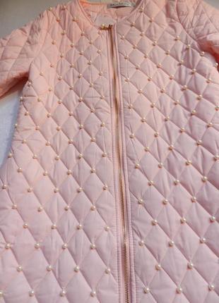 ⛔⛔✅тонкое пальто с жемчугом разные размеры и цвета9 фото