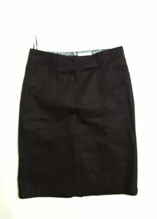Фирменная теплая полушерстяная юбка